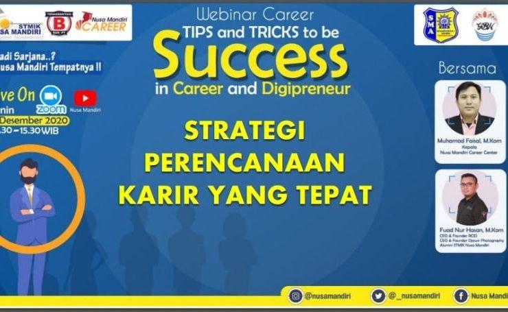 Perencanaan Karier Sukses