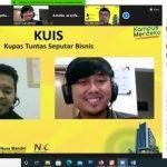 Nusa Mandiri Entrepreneur Center Sukses Gelar Webinar KUIS Bersama Alumni