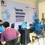 Vaksinasi Covid-19 Universitas Nusa Mandiri Margonda