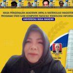 Kegiatan Matrikulasi Universitas Nusa Mandiri (UNM) 2021