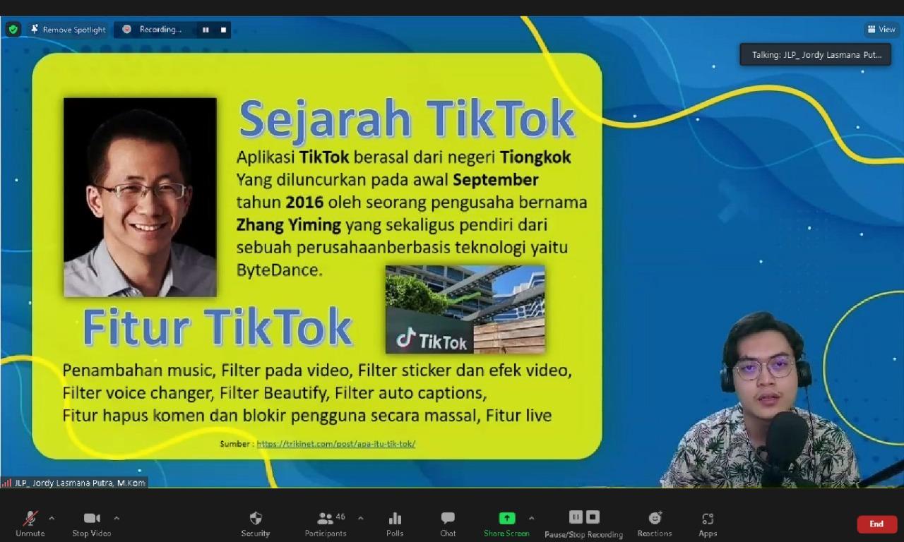 TikTok sebagai Media Edukasi
